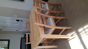 Ikea Dining Table and Chairs in Fort Lewis, Washington