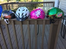 Helmets in Fort Campbell, Kentucky