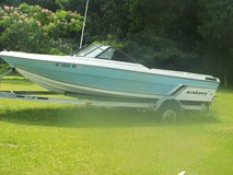 1986 Galazy 19 foot inboard Boat with Chevy 350 motor open bow in Camp Lejeune, North Carolina