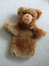Steiff  hand teddy bear puppet, over 30 years old, very good condition in Stuttgart, GE