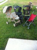 3 Strollers. $35 each in Camp Pendleton, California