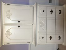 Beautiful 2 piece white dresser in great condition in Naperville, Illinois