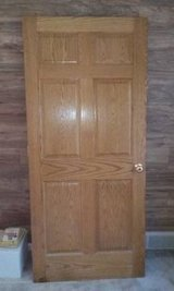 Solid Wood Oak 6 Panel Door in Fort Leavenworth, Kansas