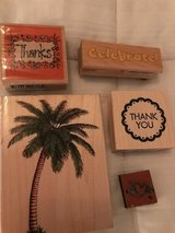 Palm Stamp set in Camp Lejeune, North Carolina