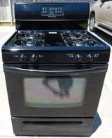 STOVE- FRIGIDAIRE GAS STOVE- BLACK WITH WARRANTY(FINANCING) in Camp Pendleton, California
