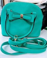 REDUCED!!  CUTE TURQUOISE / AQUA APT 9 PURSE WITH HANDLES & STRAP in Yorkville, Illinois
