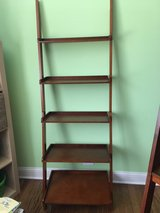Leaning bookcases in Naperville, Illinois