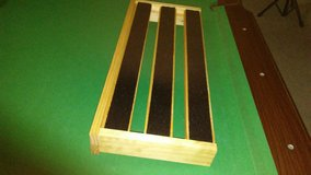 Custom Wood Pedalboard in Fort Campbell, Kentucky