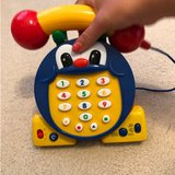 bi-lingual Telephone toy in Naperville, Illinois