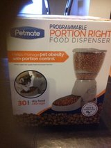 Petmate portion right food dispenser new in Travis AFB, California