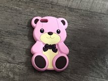 Pink teddy bear IPhone 5s case in Naperville, Illinois