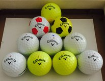 30 Callaway Chrome Soft used golf balls near mint condition in Naperville, Illinois