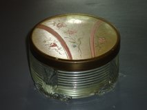 vintage art deco powder box 3.5 x 2H in Plainfield, Illinois