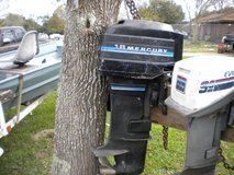 1982 MERCURY 18HP OUTBOARD reduced 8-2 in Conroe, Texas