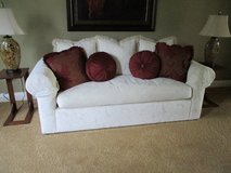 WHITE DOWN COUCH in Naperville, Illinois