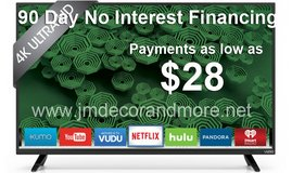 """65"""" 4K VIZIO SMART TV FREE DELIVERY FINANCING AVAILABLE in Camp Pendleton, California"""