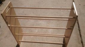 20 Pair Wooden Shoe Rack With Brackets in The Woodlands, Texas