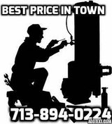 Professional plumber for all your plumbing needs in Pearland, Texas