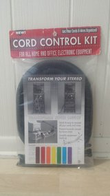 New in Package!  Cord Control Kit in Glendale Heights, Illinois