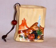 Miniature Ceramic Bag - Hand Painted - Really Cute! in Alamogordo, New Mexico