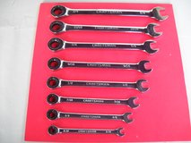 8 Pc Craftsman Ratcheting Wrench  Set, SAE in Ramstein, Germany