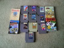 Nitendo and Super nitendo games lot in Quantico, Virginia