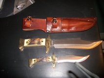 UNCLE HENRY BOWIE KNIFE SET in Moody AFB, Georgia