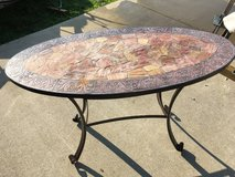 Metal & Stone Top Table Pier 1 Imports Heavy in Fort Knox, Kentucky