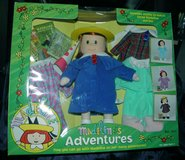 "1999 12"" Madeline's Adventures Doll with Clothes and Books - Retired in Palatine, Illinois"