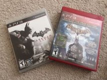 PS3 Set of 2 Batman Games in Naperville, Illinois