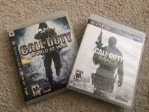 PS3 Set of 2 Call of Duty Games in Naperville, Illinois