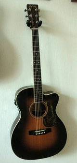 Martin 000c-16rgte acoustic electric guitar with aura fishman pickup in Okinawa, Japan