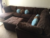3pc Sectional Couch & Ottoman in Okinawa, Japan