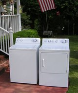 Washer and Dryer price for set-General Electric/Hotpoint Huge Tub in Byron, Georgia