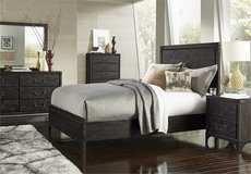 SALE! UPSCALE SOLID DISTRESSED WOOD QUEEN BED FRAME! MY M. INTERNATIONAL! in Camp Pendleton, California