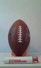Wilson Football w/Kicking Tee and Air Pump in Alamogordo, New Mexico