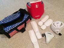 Youth Sparring Gear and Duffel Bag in Lockport, Illinois