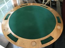 Round poker table in Camp Lejeune, North Carolina