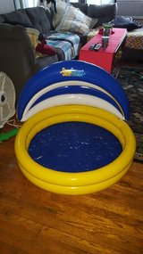 aqua child's inflatable pool with smart shade new in Naperville, Illinois