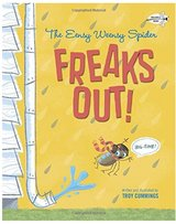 The Eensy Weensy Spider Freaks Out! in Travis AFB, California