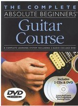 The Complete Absolute Beginners Guitar Course: Book/2-CD/DVD Pack in Travis AFB, California