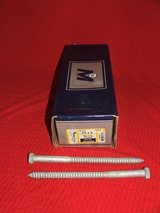 "Box of 25 ~ 1/2"" x 8"" Hex Head Lag Screw Hot Dipped Galvanized NEW in Glendale Heights, Illinois"