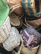 Box full of smaller baskets in Perry, Georgia