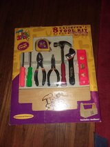 8pc children's tool set with wooden box in Naperville, Illinois