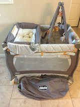 Like New Chicco Pack N Play in The Woodlands, Texas