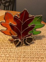 Fall Leaves and Acorns Candle Holder in Alamogordo, New Mexico