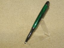 Hand-Crafted-Pen-Eclipse-Style-Pen-w-Emerald-Acrylic-Feature in Fort Campbell, Kentucky