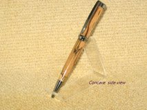 Custom Hand Crafted Pens Concave w/ Olive wood Feature Twist Style Pen in Fort Campbell, Kentucky