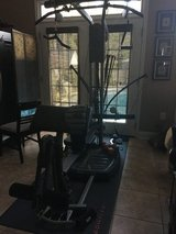 Bowflex machine with all attachments plus floor mat in Macon, Georgia