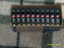 10 Square D   QBO - 20 AMP Breakers  120V   Bolt On  Single Pole   ( NEW Box of Ten ) in Oswego, Illinois